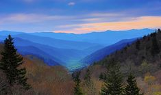 Sunrise light hits the Oconaluftee valley in the Great Smoky Mountains. Canvas Prints, Framed Prints, Great Smoky Mountains, Wood Print, Beach Towel, Tennessee, Sunrise, Tapestry, Wall Art
