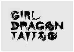 The Girl with the Dragon Tattoo opening title sequence | Art of the Title