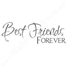 My kiddos are my BFFs :-) Always!