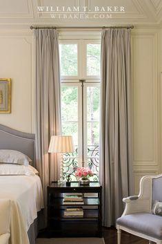 William T. Baker | master bedroom, Suzanne Kasler