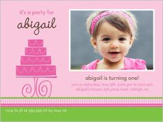 103 best baby girls 1st birthday invitations images on pinterest shutterfly offers baby girl first birthday invitations in a variety of styles and colors shop a variety of designs and create the perfect invite for her stopboris Images