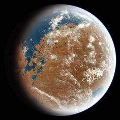 Mars Had Oxygen-Rich Atmosphere 4 Billion Years Ago, Shows New Study - Breaking Science News | Sci-News.com Mega Tsunami, Mission Mars, Meteor Impact, Water On Mars, Curiosity Rover, Life On Mars, Study Space, Space Exploration, Mars