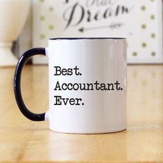 Best Accountant Ever (Typewriter Print) 11 oz Coffee Mug