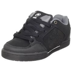 etnies Kid's Metal Mulisha Charter Skate Shoe (Toddler/Little Kid/Big Kid) Etnies. $47.45. Padded tongue and collar. EVA cushioning footbed. Rubber sole. New 400 NBS double cup rubber outsole with internal EVA midsole. Available in sizes: 10c-6c. leather. Trademark etnies Icon logo