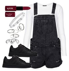 """""""Untitled #5031"""" by angela379 ❤ liked on Polyvore featuring Topshop, New Look, adidas, MANGO and Monki"""