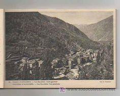 BOLCK CON 18 POSTALES. VALLS D'ANDORRA. (CLAVEROL). ANDORRA LA VELLA, ESCALDES, CANILLO, ORDINO... - Foto 6 Andorra, Costa, City Photo, Shopping, Vintage Postcards, Pictures