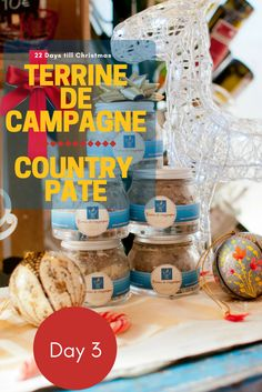 Homemade country pâté another perfect foodie holiday gift idea from chef Eric Fraudeau.