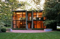 Esherick House, by Louis Kahn, is rarely open to the public, but it will be featured in a guided tour of five midcentury modern homes in the Chestnut Hill neighborhood of Philadelphia.