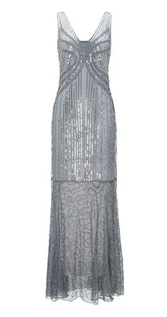 a4108afa07 Metme Women s Vintage 1920s Inspired Sequins Art Deco Mermaid Evening Party  Dress