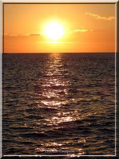 Sur la Côte Bleue... le soleil se couche...