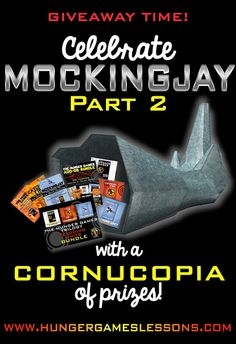 #MockingjayPart2 Giveaway sponsored by @HGLessons and @MrsOrman