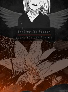 Looking for heaven found the devil in me #naruto #obito
