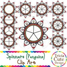 Glitter Spinners Clipart! Contained in the zip file are 20 PNG files with transparent background , 300dpi and high resolution.This set includes 10 colored images and 10 black and white images.They are great for decorating your worksheets!!You might also like:Spinners Clip Art - Glitter Santa ClausSpinners Clip Art - Glitter Christmas TreesSpinners Clip Art - Glitter Gingerbread ManSpinners Clip Art - Glitter AngelsSpinners Clip Art - Glitter SnowmanSpinners Clip Art - Glitter…