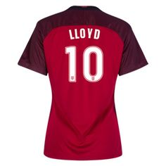 Nike Womens USA Carli Lloyd #10 Jersey (Alternate 17/18): http://www.soccerevolution.com/store/products/NIK_41087_A.php