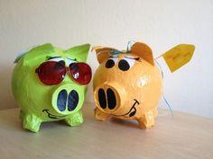 Sparschwein - klein - individuelle Gestaltung - Geschenk - Werbegeschenk - Box -