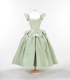 """Petal"" Dress, Charles James (American, born Great Britain, 1906–1978): 1951, American, silk. Brooklyn Museum Costume Collection at The Metropolitan Museum of Ar"