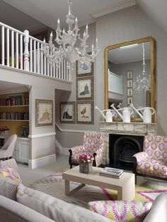 Covent Garden Hotel.  Loft Suite. Kit Kemp designer. London. -via Interior Canvas