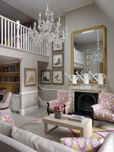Covent Garden Hotel.  Loft Suite. Kit Kemp designer. London. -via Interior Canvas