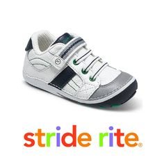 Toddlers pre-walk #StrideRite shoes.