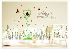 Wall Decor - OneHouse Tree of Life Word Ten Picture Frames Line Wall Decor Decal Sticker -