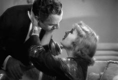 Carole Lombard, William Powell My Man Godfrey dir. Old Hollywood Movies, Vintage Hollywood, Classic Hollywood, Hollywood Glamour, Hollywood Actresses, Mr Deeds, Thin Man Movies, Black And White Gif, Nick And Nora