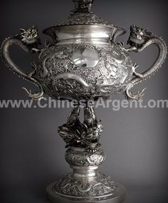 Recently Silver collector starts to re-discover the beauty of Chinese Export Silver and decipher the mysterious Chinese Silver makers' marks. Collecting and Silver marker guide