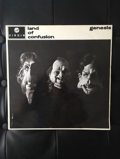 A personal favourite from my Etsy shop https://www.etsy.com/uk/listing/511292329/genesis-land-of-confusion-original-vinyl