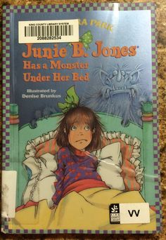 He was introduced to the Junie B. Jones series at school and enjoys reading it.  A quick read for my 1st grader.