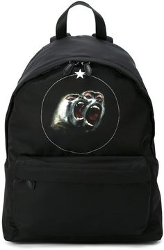 Givenchy Monkey Brothers printed backpack