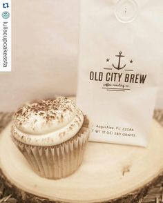 If you happen to be in SA or are fortunate enough to be a local YOU HAVE to go try the Old City Brew cupcake at LuLi's @luliscupcakessta ...#todie #todiefor #oldcitybrew #staugustine #staugustinebeach #localcoffee #supportlocal #staugustinebuzz #coffeetime #coldbrew #coffee #cupcakes #luliscupcakes #thisishowilulis #vegan #glutenfree by oldcitybrew