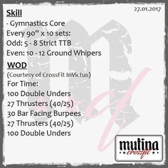 #wod #mutinacrossfit #crossfit #workout #conditioning #metabolic #endurance #weightlifting #gymnastics #barbells #strength #skills #xeniosusa #kingsbox #roguefitness #strengthshop #supportyourlocalbox #crossfitgames #crossfitaffiliate #like4like #likeforfollow #likeforlike #like4follow #crossfititalia  #modena #mutina #igersmodena #like #follow @crossfitgames @workout @crossfitaffiliate