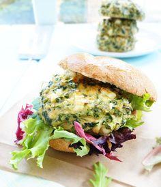 Roasted Garlic & Feta Chicken Burgers | 19 Burgers You Really Need To Make This Summer