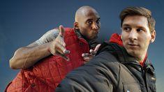 Awesome Celebrity use - Kobe vs. Messi: The Selfie Shootout