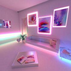 Neon Light Decor Bedroom Lights Pink Flamingo Led Inside For Room Prepare 19 Neon Aesthetic, Aesthetic Rooms, Aesthetic Vintage, My New Room, My Room, Girls Bedroom, Bedroom Decor, Bedrooms, Neon Room Decor