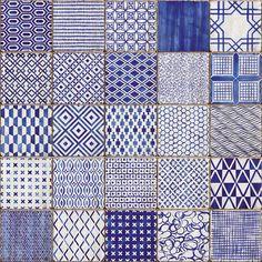 Maioliche di Sant'Antonio Blue - HMADE | Mirage