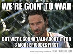 This is why I've given up on The Walking Dead. Not even Daryl can save it.