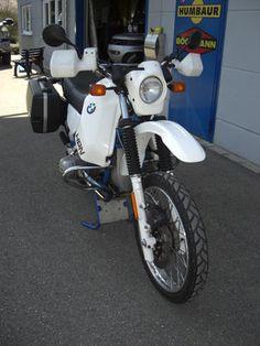 BMW R80 GS Basic 1000ccm, Siebenrock mit 42l HPN-Tank | eBay