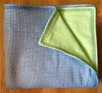 Super Easy Flannel Baby Blanket TUTORIAL. Great beginner project. I love these blankets for swaddling!