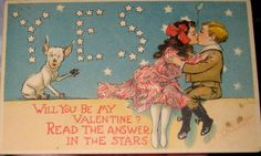 Valentine Postcard by Tuck R F  Outcault Postmarked 1906