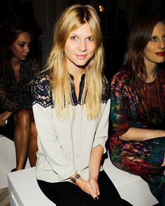 Love the blouse - Clemence Poesy