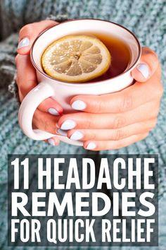 11 Instant Headache Relief Tips Tension Headache Relief, Natural Headache Relief, Natural Headache Remedies, Migraine Relief, Cold Remedies, Instant Headache Relief, Asthma Relief, Asthma Remedies, Holistic Remedies