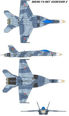 Boeing FA-18EF Aggressor 2 by bagera3005 on DeviantArt