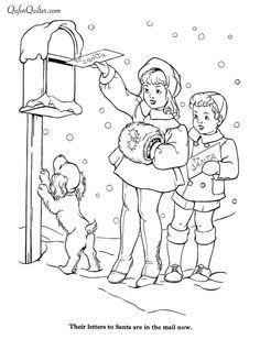 Bilderesultat For Free Vintage Christmas Design Coloring Pages