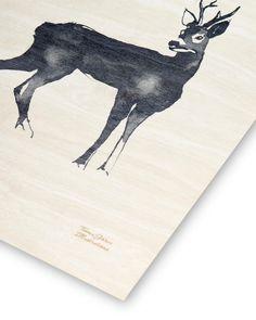 Details 🦌 #teemujärvi #teemujarvi #teemujärviillustrations #teemujarviillustrations #natureart #homedecor #artposter #deer #roedeer #woodposter #plywoodposter #puinenjuliste #illustration #forestisastateofmind Monet, Moose Art, Animals, Instagram, Animales, Animaux, Animal, Animais