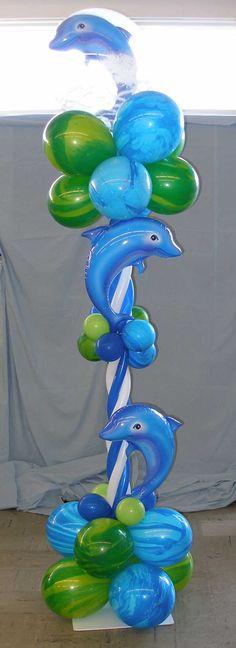 Dolphin Column