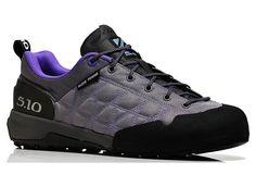 Five Ten | Guide Tennie Canvas Women's Approach Shoe | Charcoal/Iris