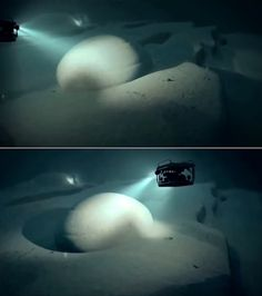 The stunning and highly controversial find made by marine treasure hunters using side-scanning sonar to detect shipwrecks in the Baltic Sea has finally been identified as a submerged monumental construction from the Paleolithic era. The giant circular seafloor promontory measuring ~60m in diameter is actually a terraced monument built by the highly advanced Atlantean civilization over 14,000 years ago.
