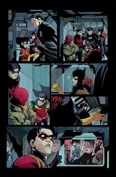 batman new 52 comics page