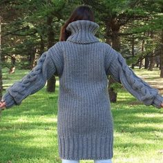 Pull gris Mohair, Pull tricot à main, Pull Crewneck, Pull Oversized, Pullover Mohair Yarn, Mohair Sweater, Cardigan Sweaters, Long Cardigan, Gros Pull Long, Poncho Cape, Handgestrickte Pullover, Hand Knitted Sweaters, Thick Sweaters