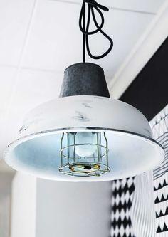 kuva Diy Home Decor, Restoration, Ceiling Lights, Lighting, Pendant, Crafts, Hem, Style, Restore